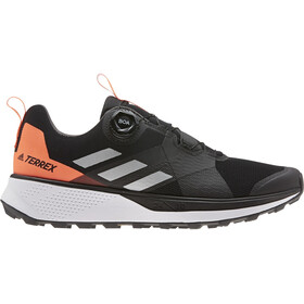 adidas TERREX Two Boa Trail Running Shoes Men, core black/silver metal/solar red